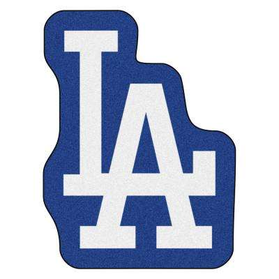 MLB - Los Angeles Dodgers 30 in. x 40 in. Indoor Area Rug Mascot Mat