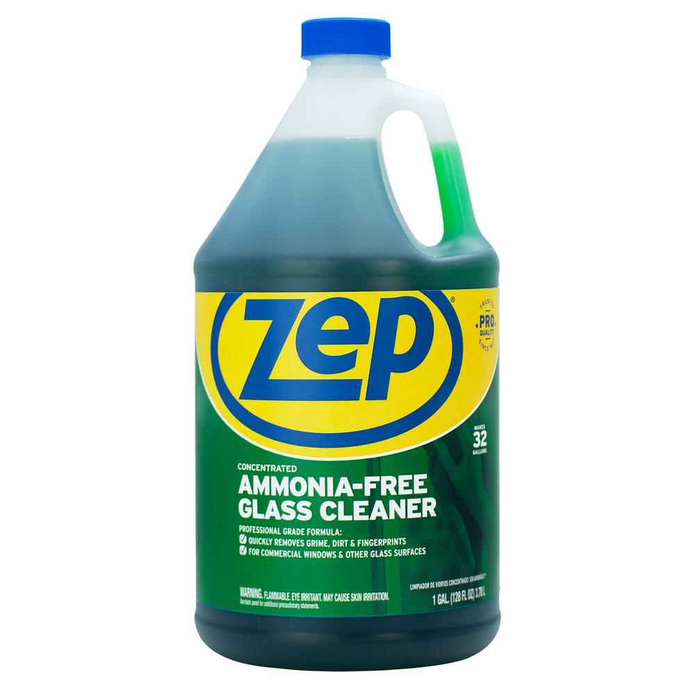 4f1123812 ZEP 1 Gal. Ammonia Free Glass Cleaner Concentrate-ZU1052128 - The ...