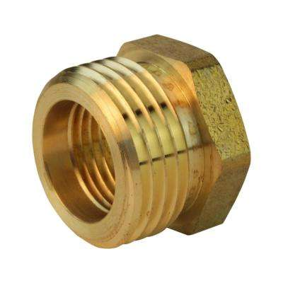 3/4 in. MGH x 1/2 in. FIP Lead-Free Brass Garden Hose Adapter