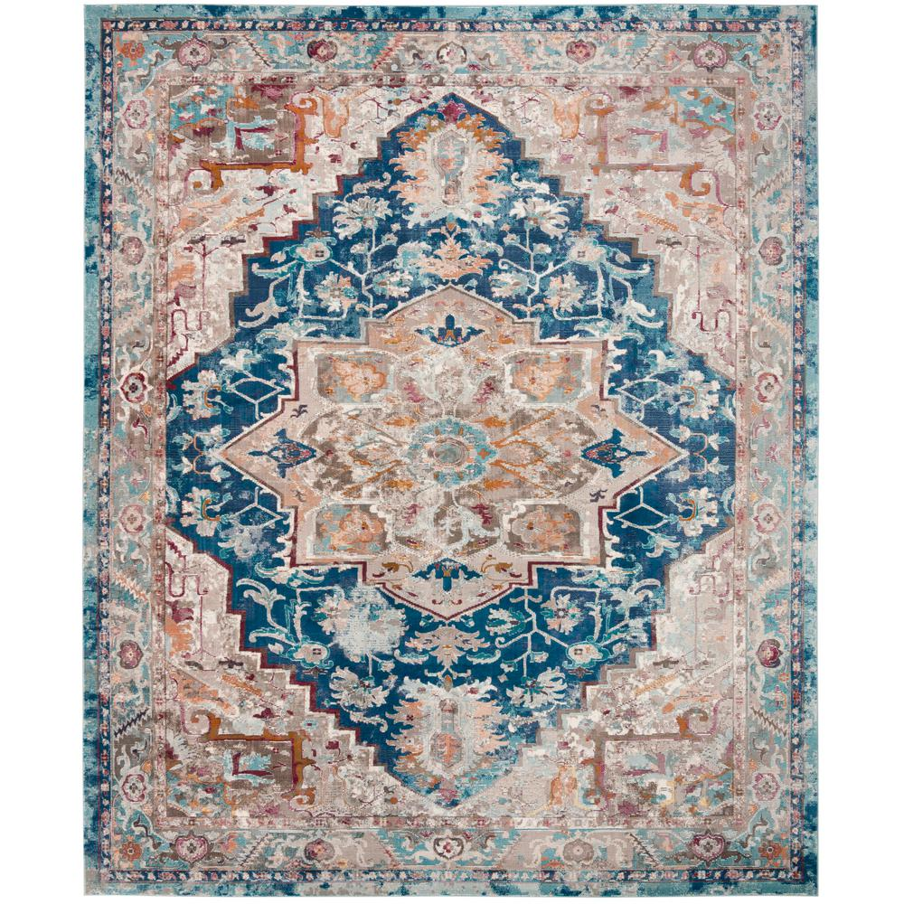 Home Decorators Collection Martine Blue Beige 9 Ft X 13