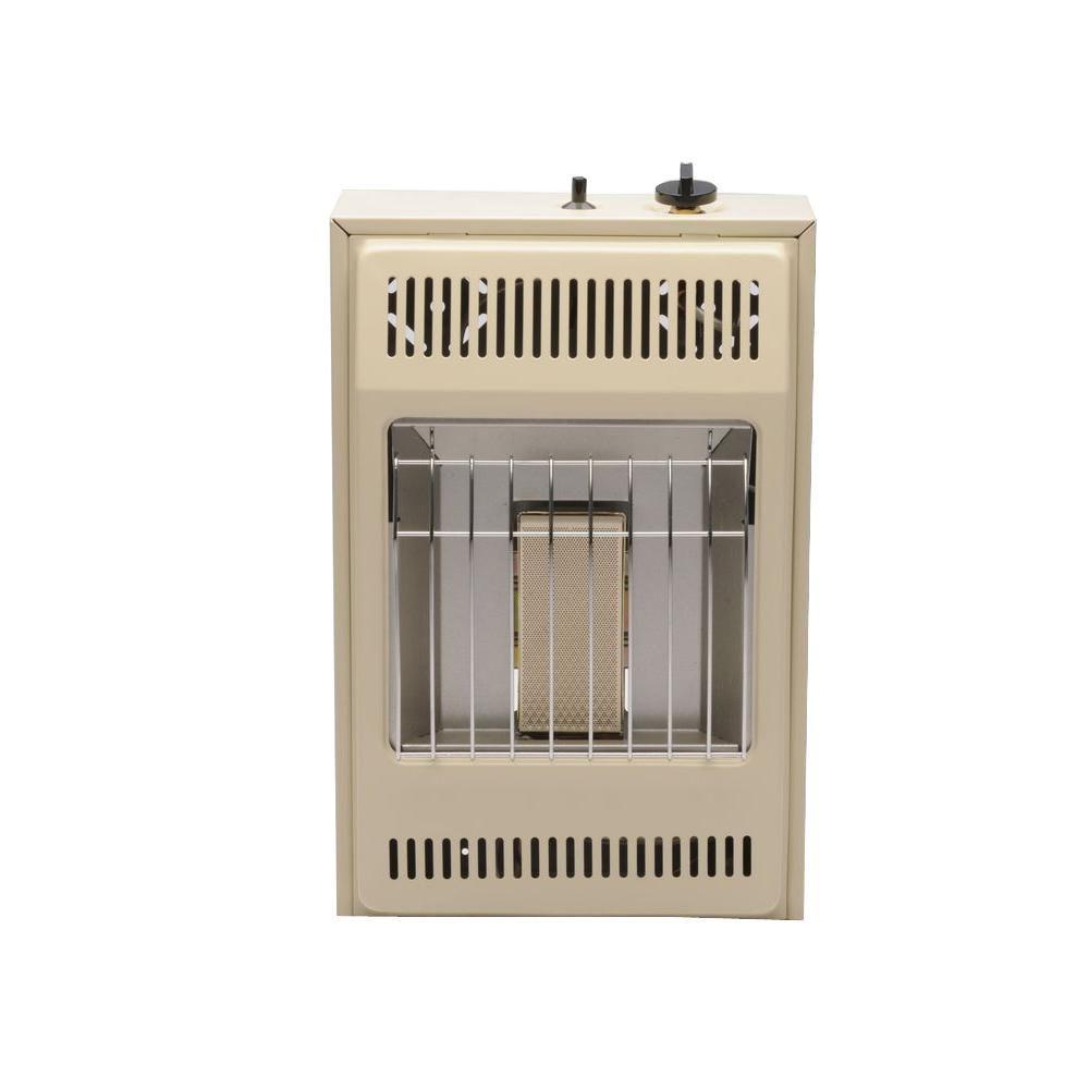 Williams Infrared 13-5/8 in. x 21-3/16 in. 5,000 BTU Vent-Free Propane Wall Heater