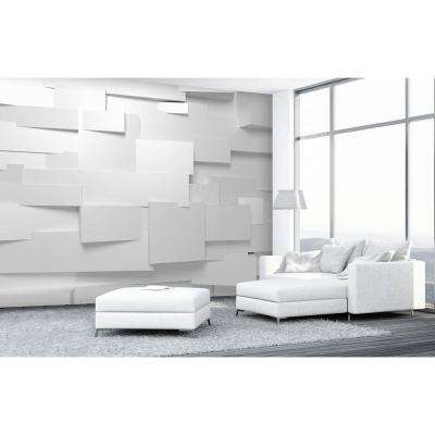 144 in. W x 100 in. H 3D Effect Wall Mural