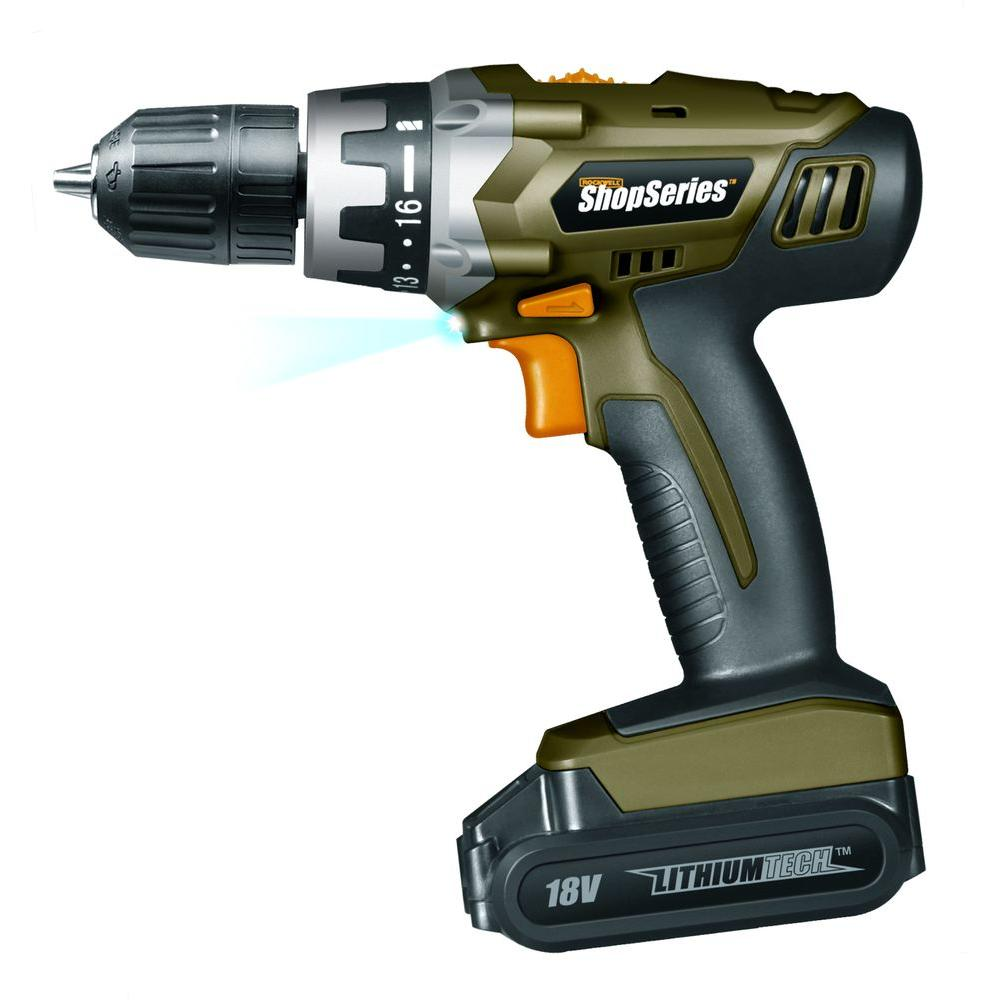Rockwell 18-Volt Lithium Cordless Drill