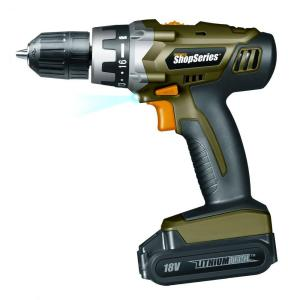 Rockwell 18-Volt Lithium Cordless Drill by Rockwell