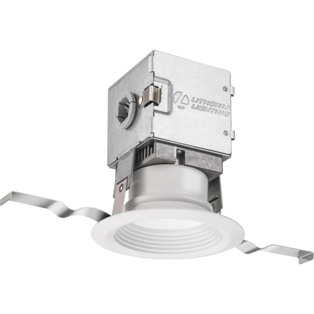 Lithonia Lighting Oneup 3 In White Integrated Led Recessed Kit