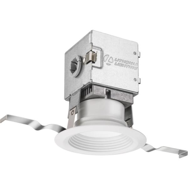 Lithonia Lighting OneUp 3 in. White Integrated LED Recessed Kit