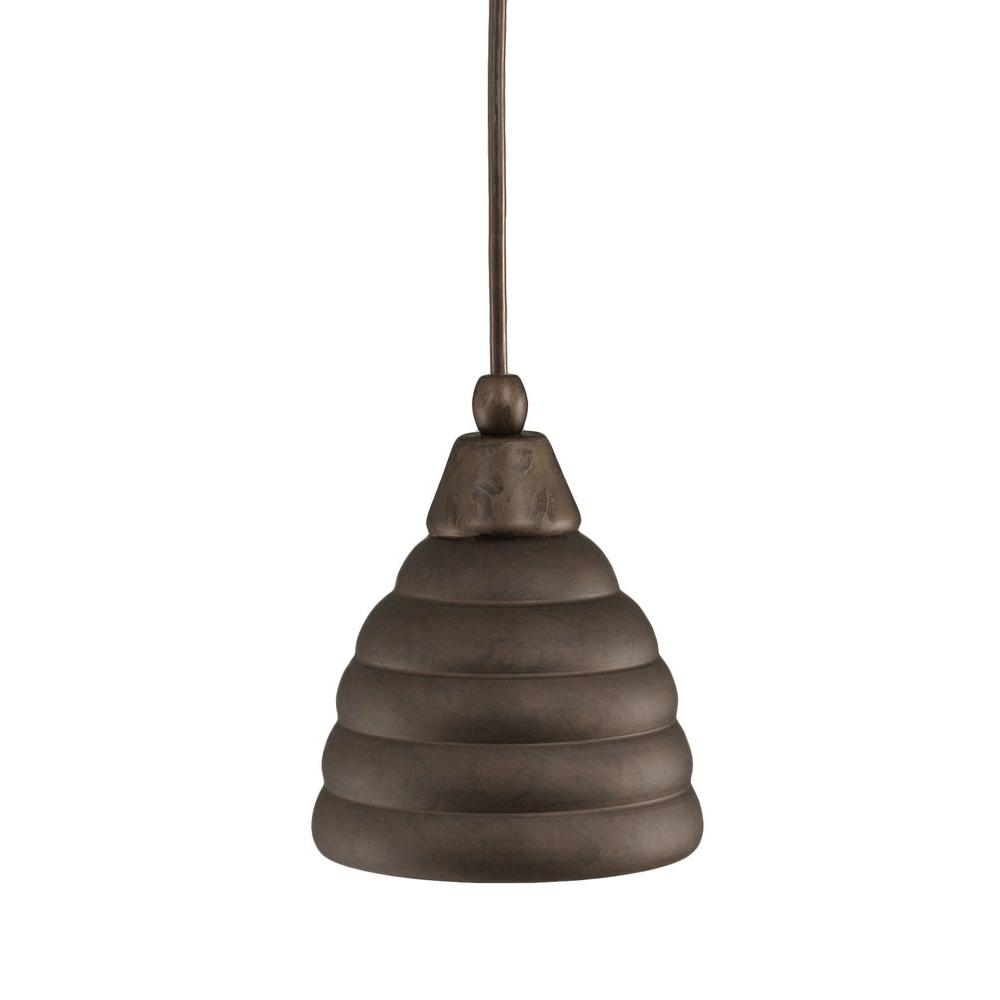 Filament Design Concord 1-Light Ceiling Bronze Halogen Pendant-DISCONTINUED