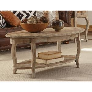 Alaterre Furniture Rustic Driftwood Storage Coffee Table by Alaterre Furniture