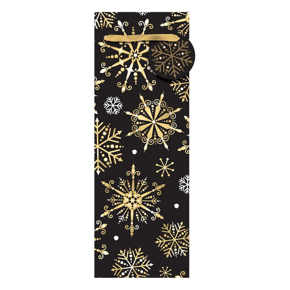 AMSCAN 14 in. x 5 in. x 5 in. Christmas Cheer Hot Stamped...
