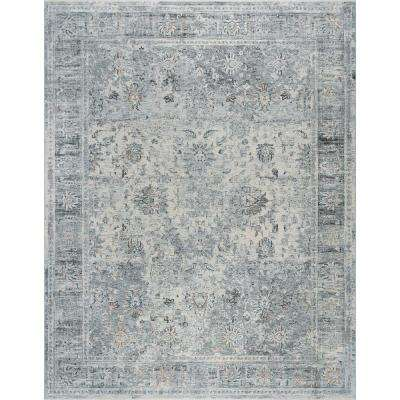 Venice Gray 9 ft. 6 in. x 12 ft. 5 in. Area Rug