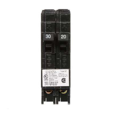 30/20 Amp Single-Pole Duplex Circuit Breaker