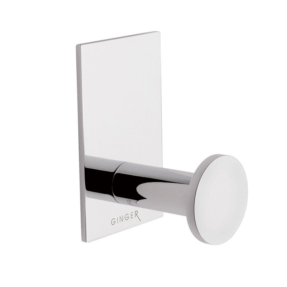 Ginger Surface Single Robe Hook in Polished Chrome