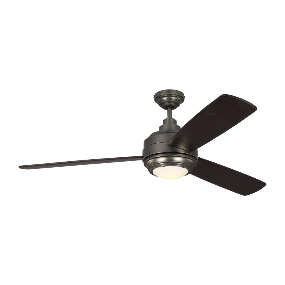 Monte Carlo TOB by Thomas O'Brien Aerotour 56 in. Integrated LED Indoor Bronze Ceiling Fan with Light Kit and DC Motor was $699.0 now $449.97 (36.0% off)