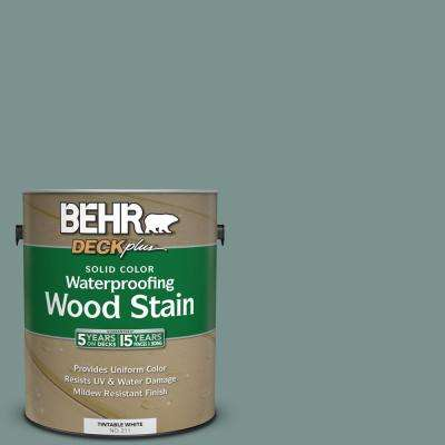 1 gal. #SC-119 Colony Blue Solid Color Waterproofing Wood Stain