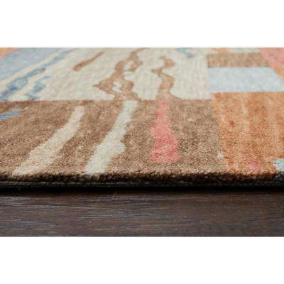 Leone Multicolor Abstract 8 ft. x 10 ft. Area Rug