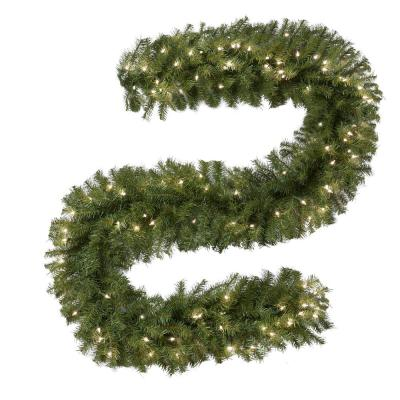 9 ft. Norwood Fir Artificial Garland with 100 Clear Lights