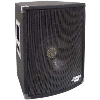 10 in. 500-Watt 2-Way Professional Speaker Cabinet