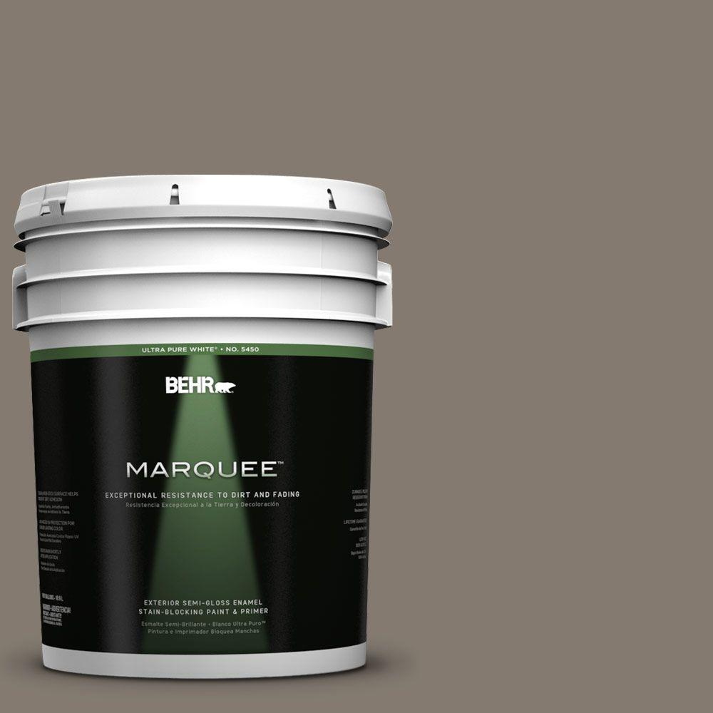 BEHR MARQUEE 5-gal. #PPF-53 Winding Path Semi-Gloss Enamel Exterior Paint