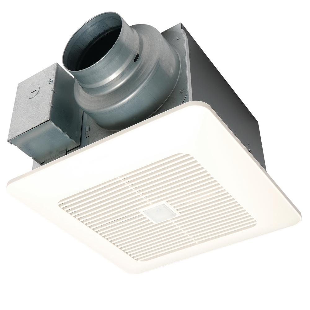 Timer for bathroom exhaust fan - Panasonic Whispersense Dc Fan With Motion And Humidity Sensors Delay Timer And Pick A