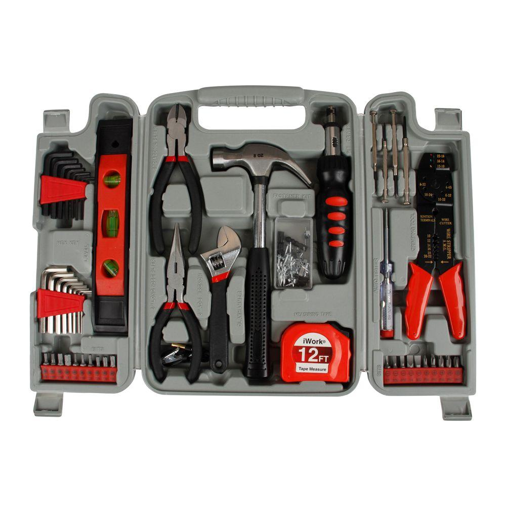 OLYMPIA DIY Homeowner's Tool Set (89-Piece)