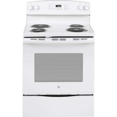 Electric Range With Self Cleaning Oven In