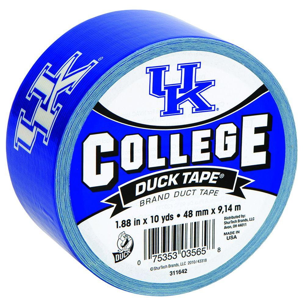 Duck College 1-7/8 in. x 10 yds. University of Kentucky Duct Tape