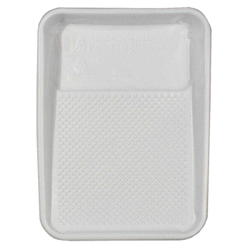 9 in. x 15-1/4 in. Plastic Paint Tray Liner