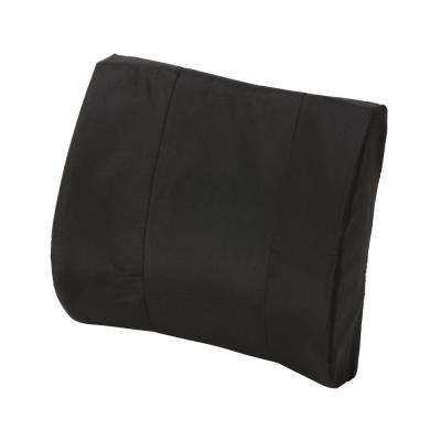 Duro-Med Standard Lumbar Cushion with Strap in Black