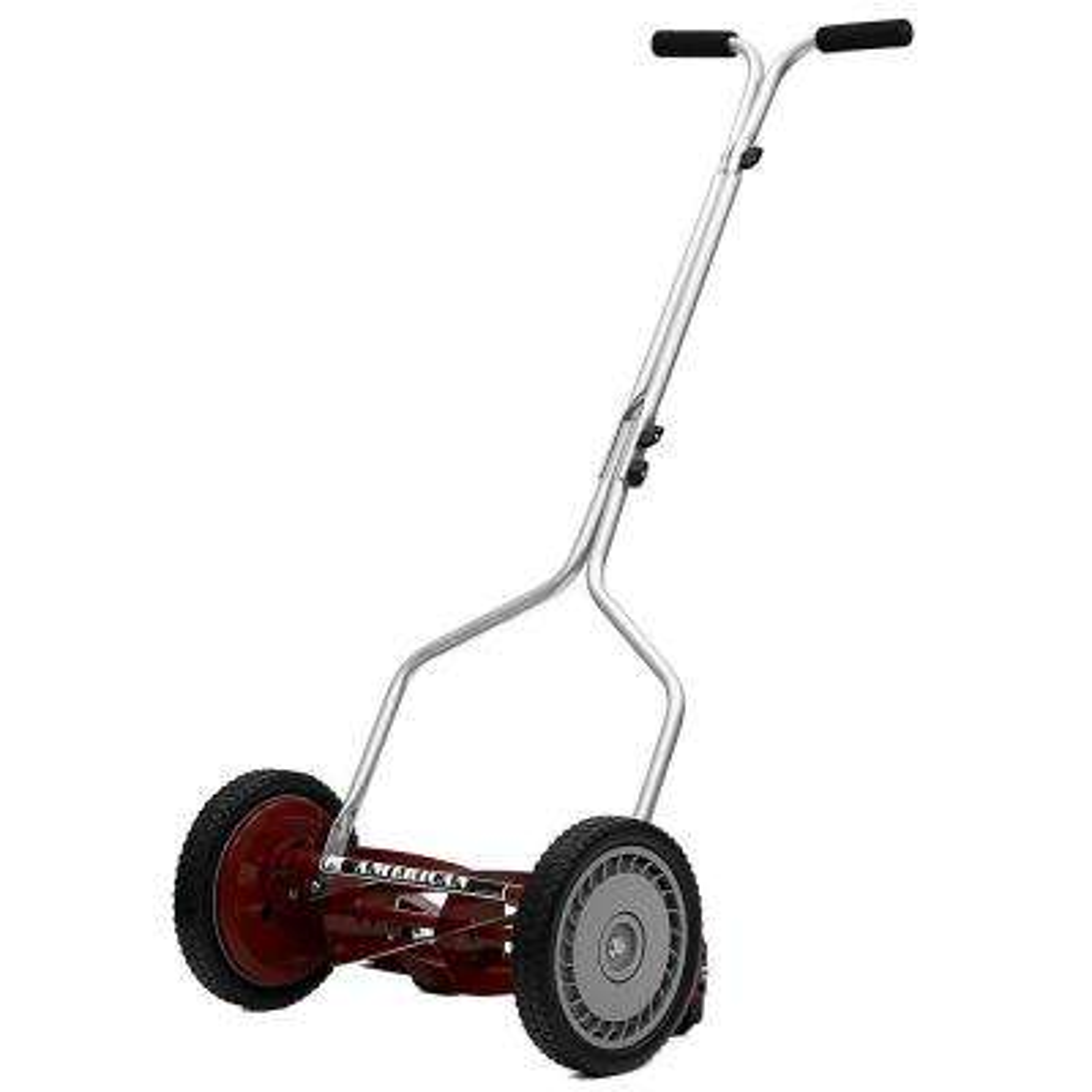 14 in. Manual Walk Behind Reel Lawn Mower