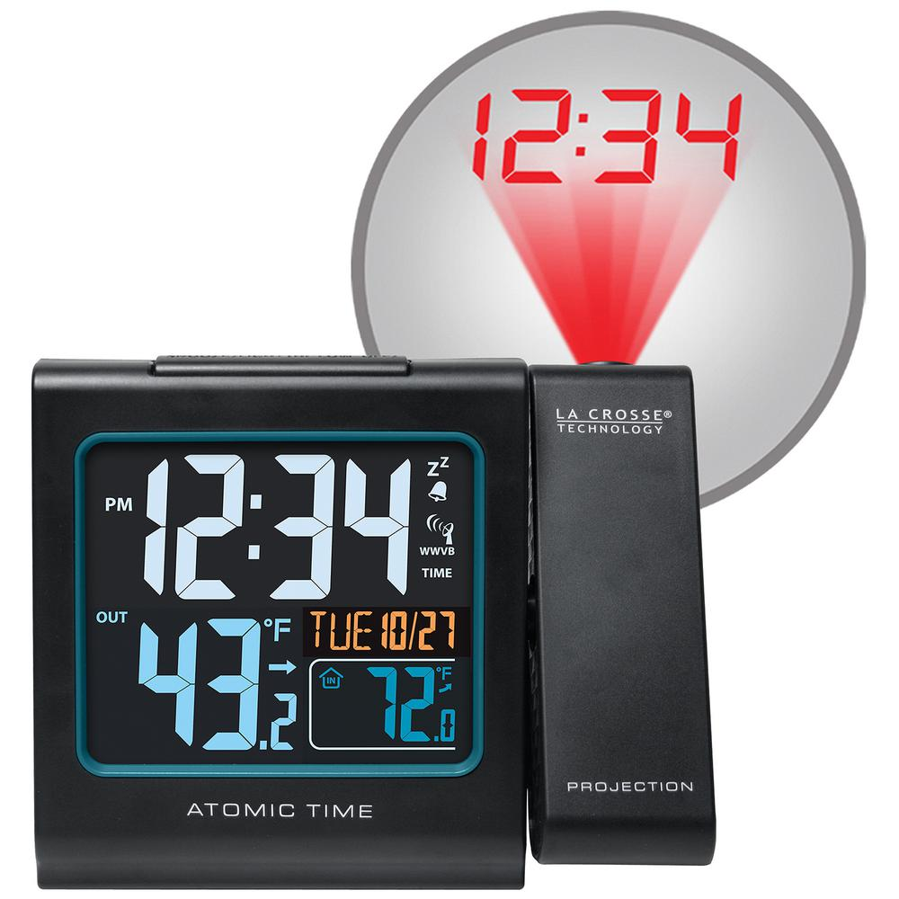 La Crosse Technology 5 In Color Projection Alarm Clock