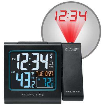 5 in. Color Projection Alarm Clock