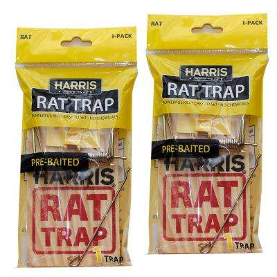 Rat Snap Trap (2-Pack)