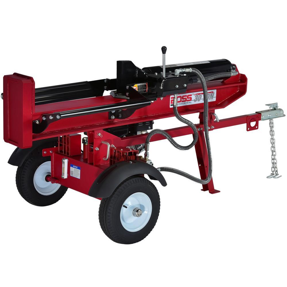 Wood Splitter For Sale >> Log Splitters Outdoor Power Equipment The Home Depot