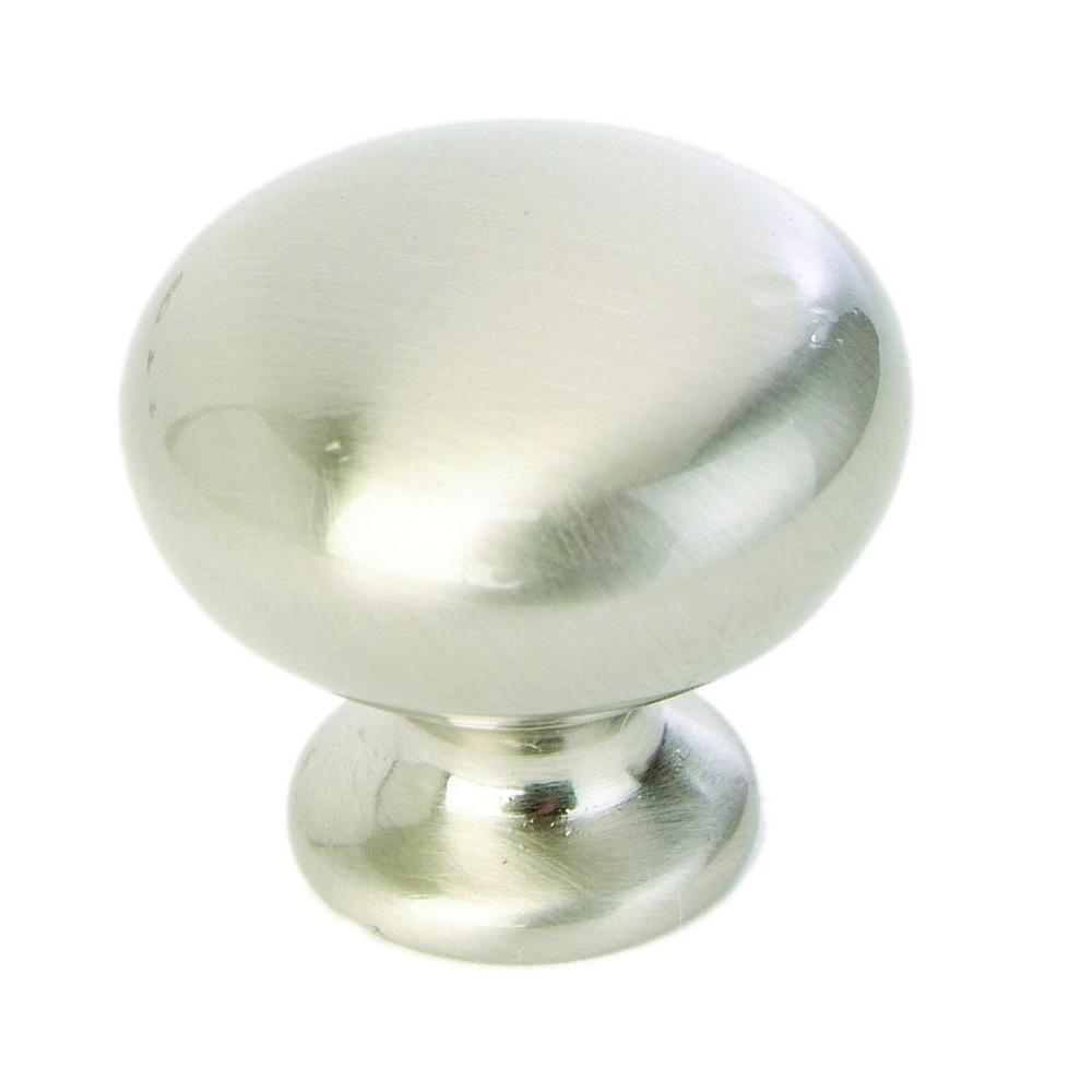 Giagni 1-1/4 in. Satin Nickel Round Cabinet Knob