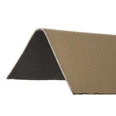 3.3 ft. x 12-1/2 in. Tan Ridge Cap Asphalt Roof Panel