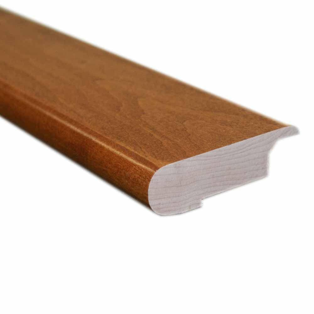 null Cherry 0.81 in. Thick x 3 in. Wide x 78 in. Length Hardwood Natural Lipover Stair Nose Molding