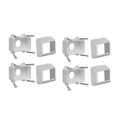 Select White Vinyl Bracket Kit
