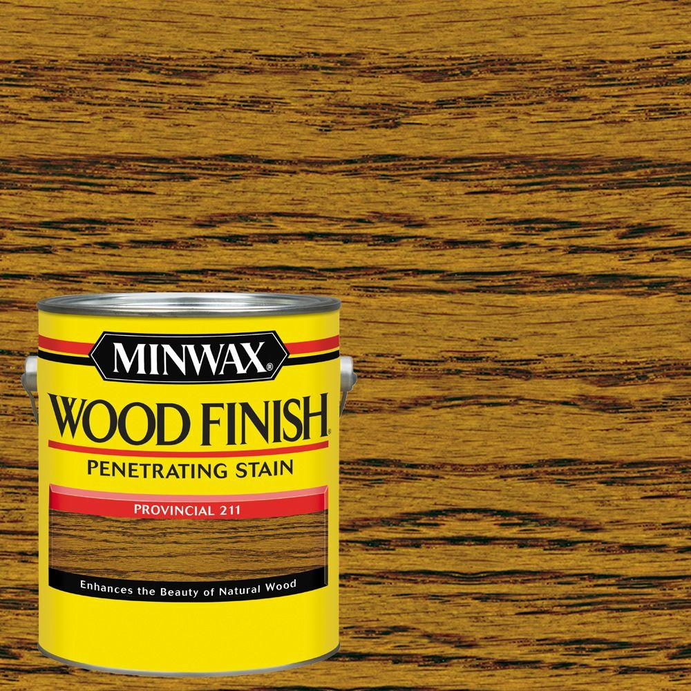 1 gal. Wood Finish Provincial Oil Based Interior Stain (2-Pack)