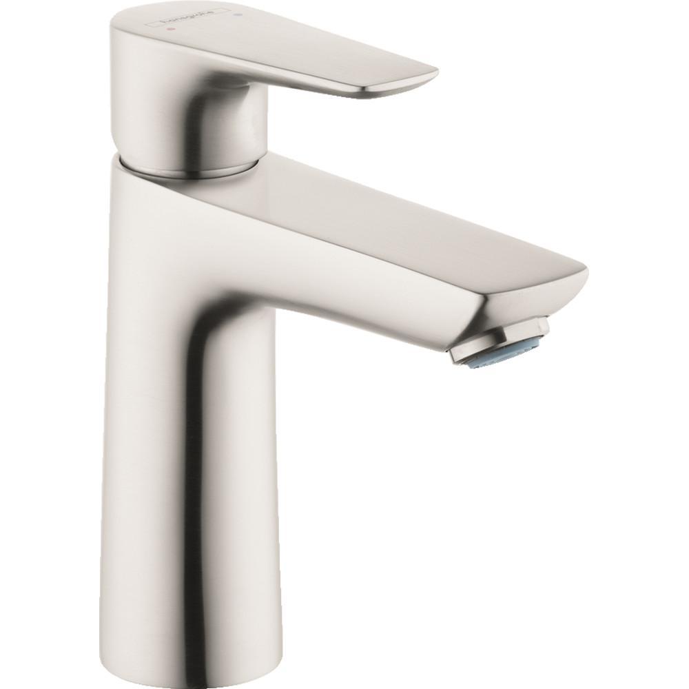 Talis E Single Hole Single-Handle Bathroom Faucet in Brushed Nickel