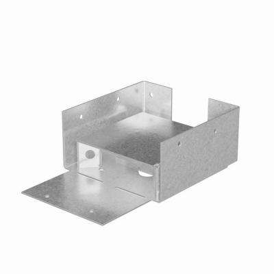 ABW ZMAX® Galvanized Adjustable Post Base for 4x4 Rough