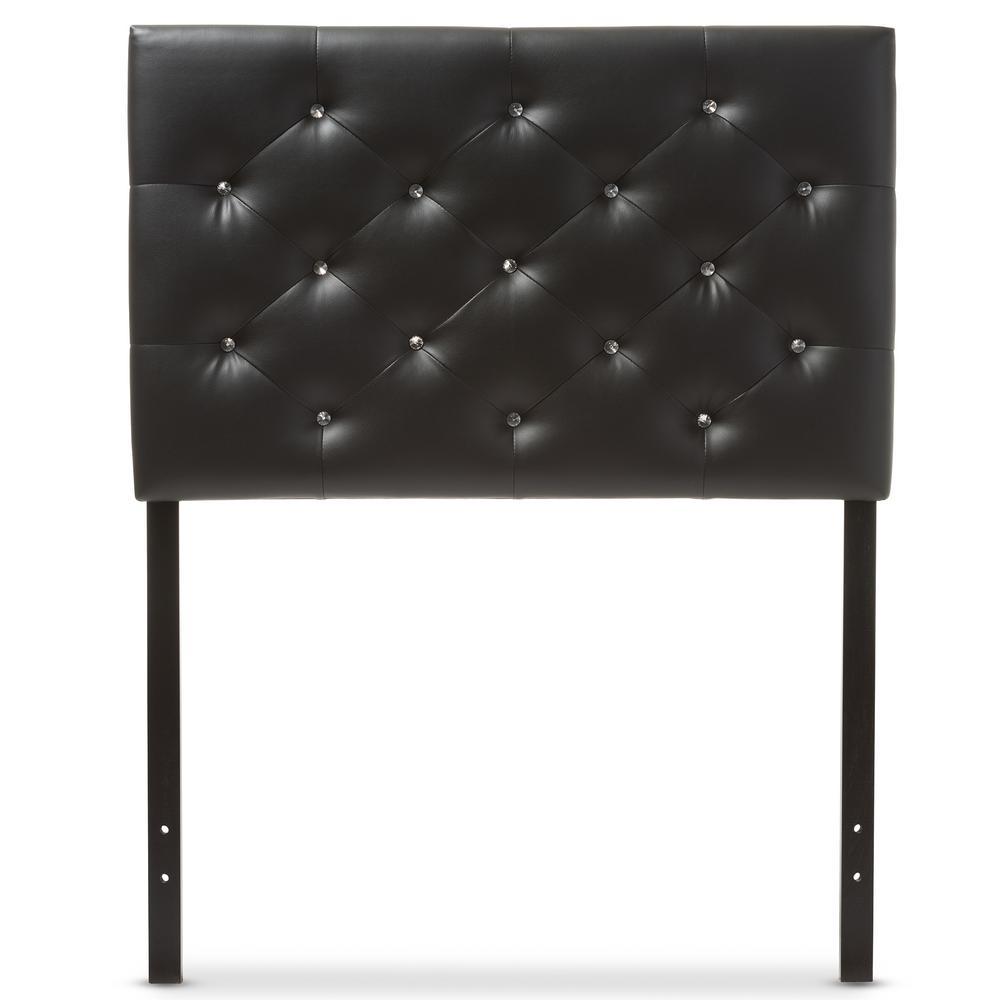 Baxton Studio Viviana Black Full Headboard 28862-6454-HD