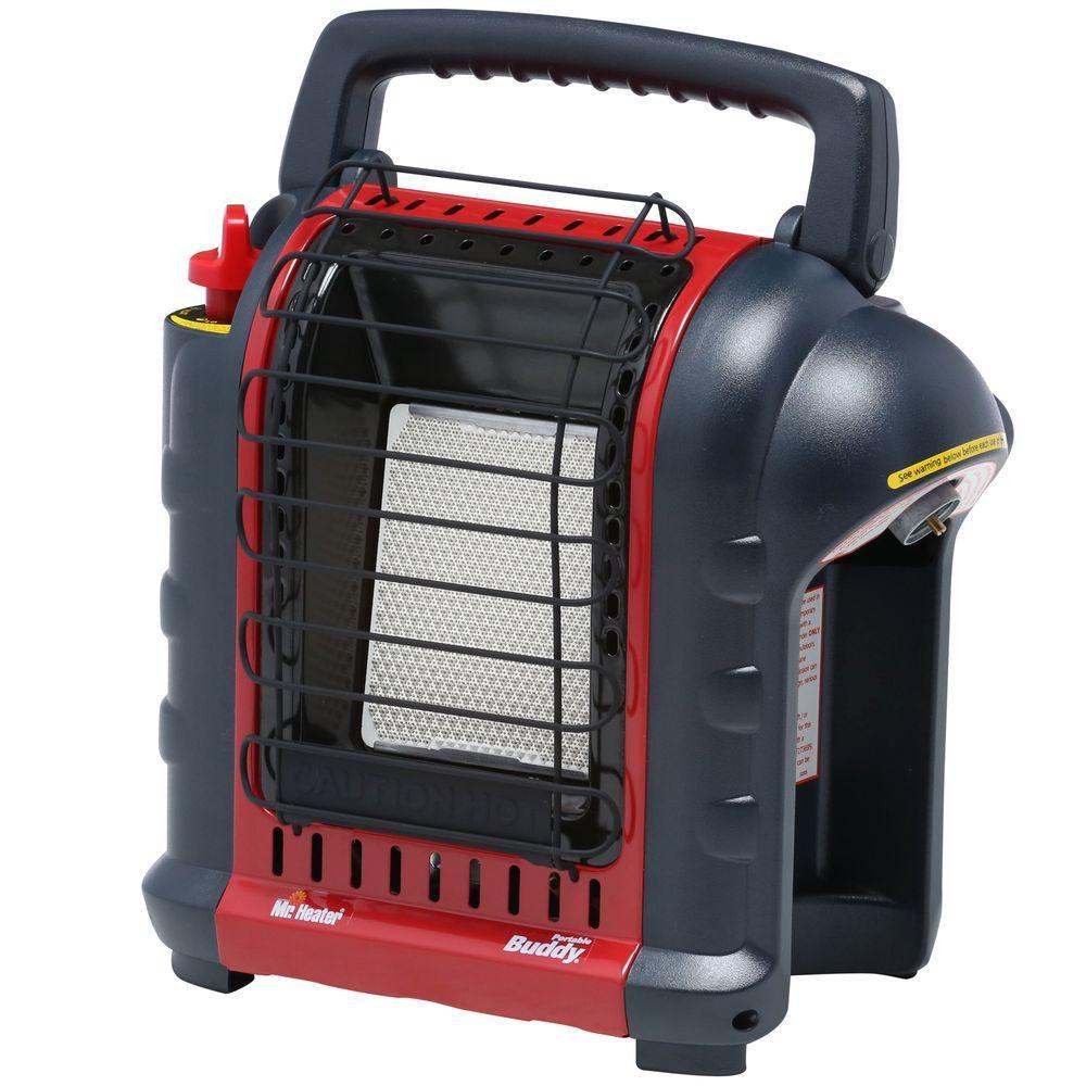 Mr. Heater Portable Buddy MH9BX 9000 BTU Radiant Propane Heater ...