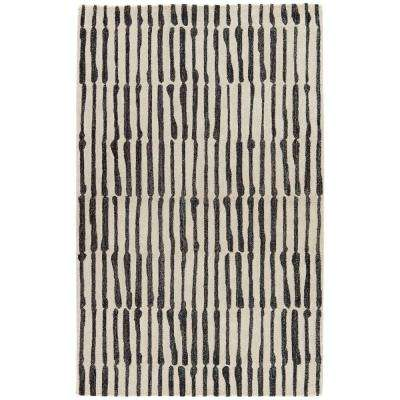 Fog 5 ft. x 8 ft. Abstract Area Rug
