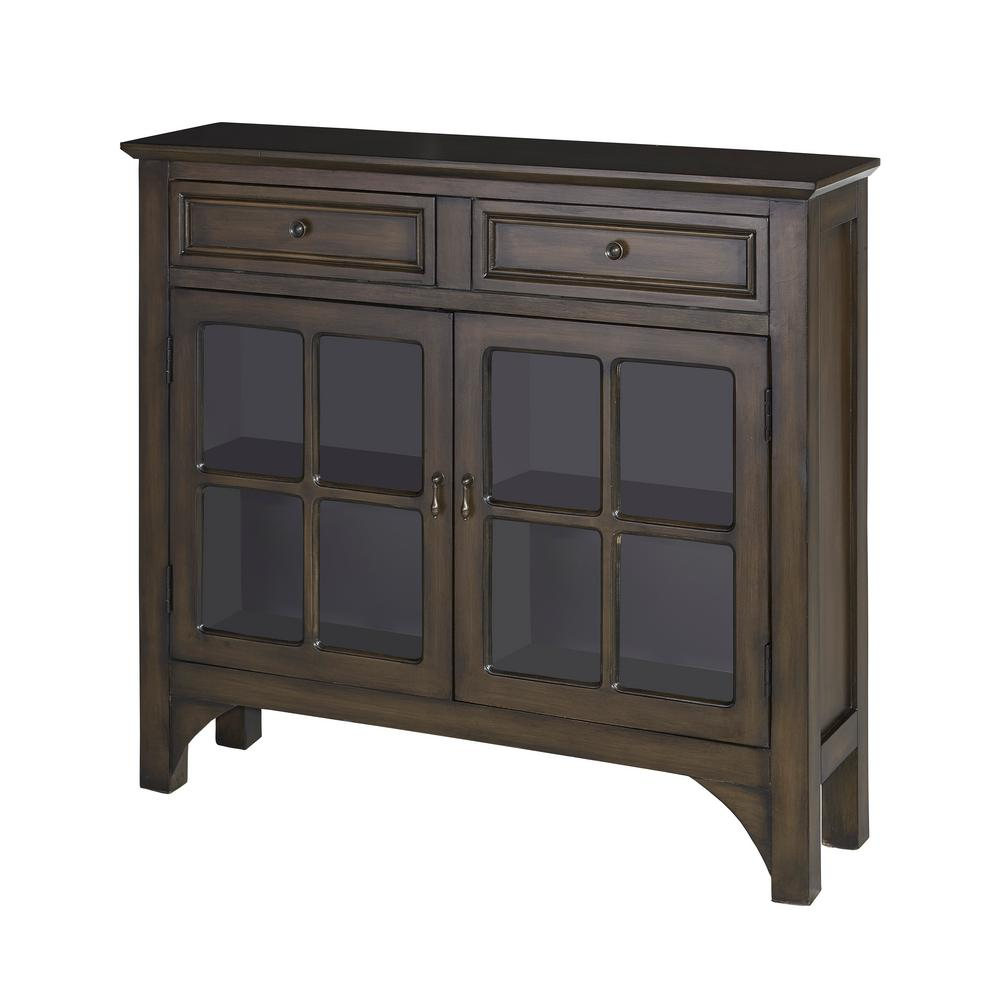 Campbell Grey Console