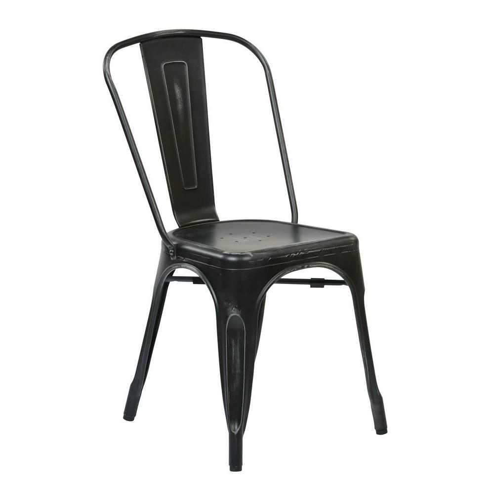 Incroyable This Review Is From:Bristow Antique Black Metal Side Chair (Set Of 4)
