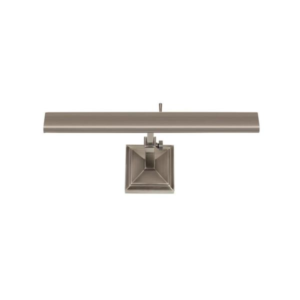 Hemmingway 14 in. Antique Nickel LED Adjustable Picture Light, 2700K