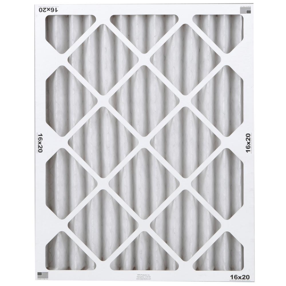 16 in. x 20 in. x 2 in. Commercial Pleated Air