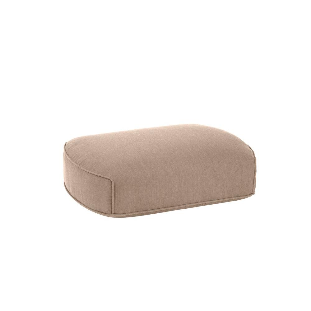 Highland Replacement Outdoor Ottoman Cushion in Sparrow