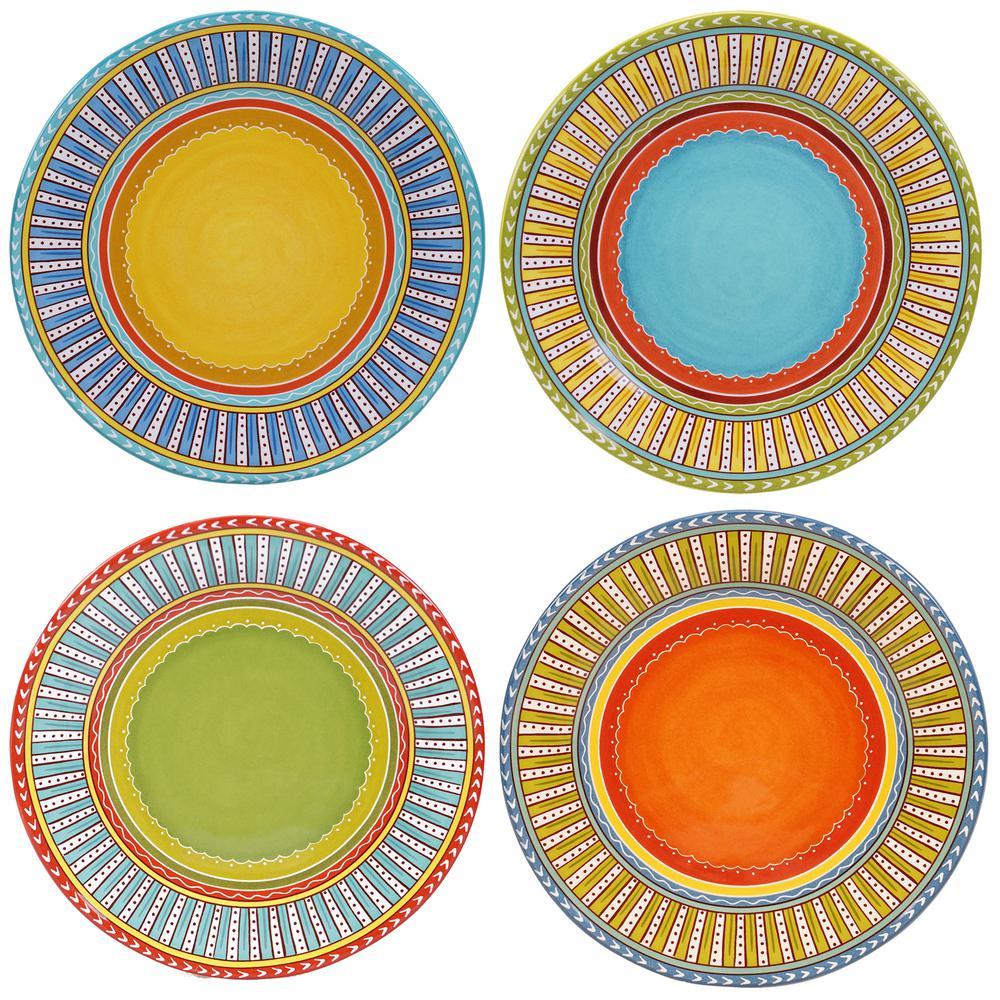 Certified International Valencia 11.25 in. Dinner Plate (Set of 4 ...
