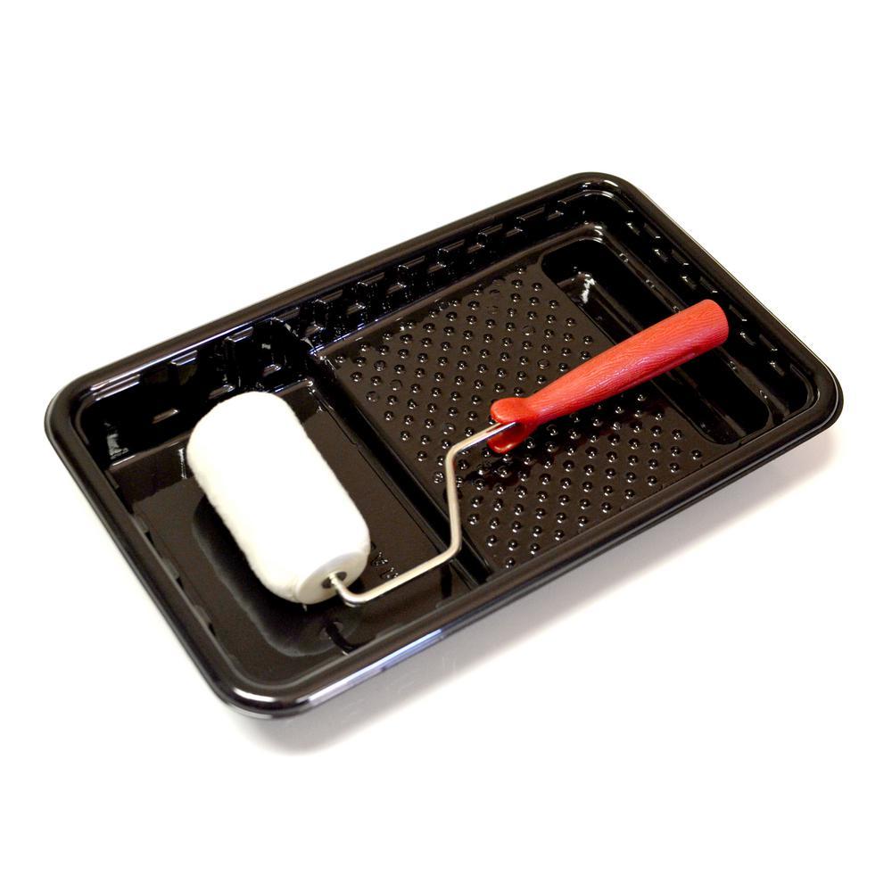 7 in. Mini Roller Tray Black